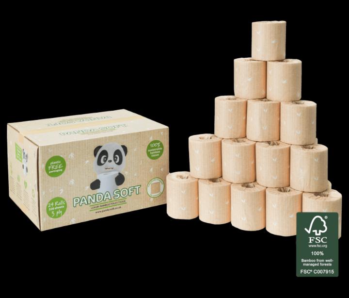 Luxury Bamboo Toilet Tissue