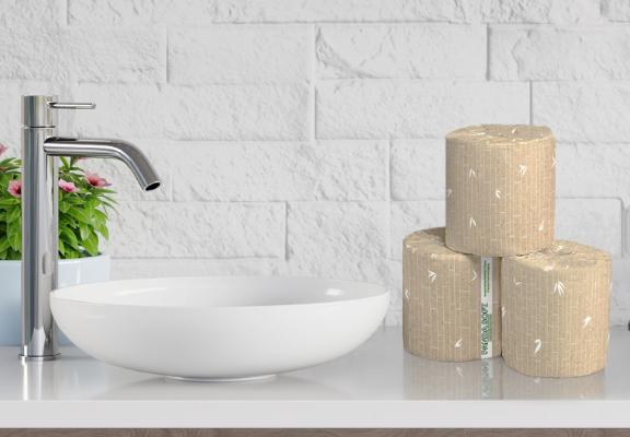 Bamboo Toilet Tissue