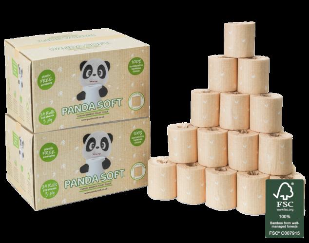 Luxury Bamboo Toilet Paper - 48 Rolls